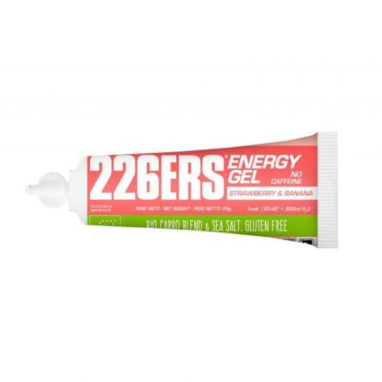 226ERS ENERGY GEL FRESA-PLATANO SIN CAFEINA - 1 GEL X 25 GRAMOS
